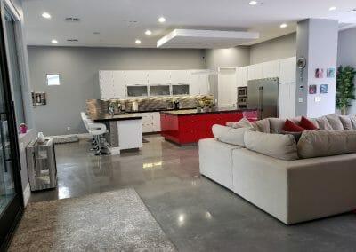 LR + Kitchen