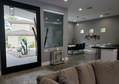 Glass Front Door Entry