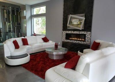 LR + Fireplace
