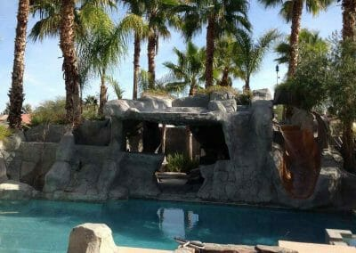Stone Mansion Pool